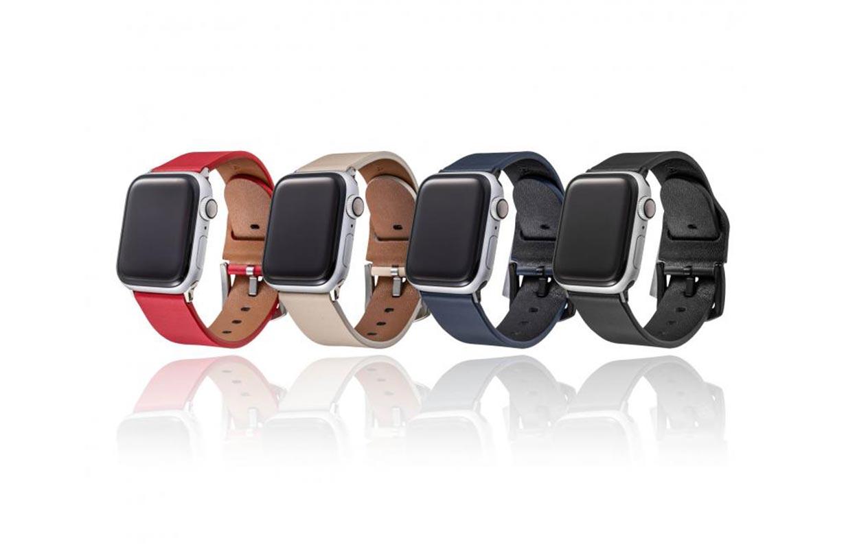 GRAMAS、イタリアンレザーを使用した「Apple Watch用レザーバンド」の販売を開始