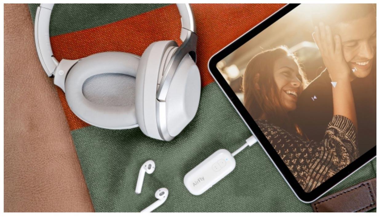 フォーカルポイント、2人同時にワイヤレスイヤホンが使えるBluetoothトランスミッター「Twelve South AirFly USB-C」の販売を開始