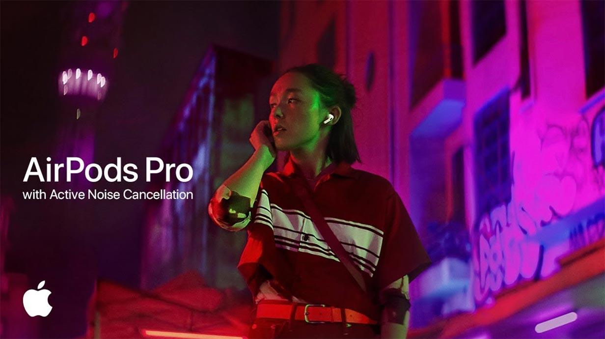 Apple、「AirPods Pro」の新しいCM「Snap」を公開