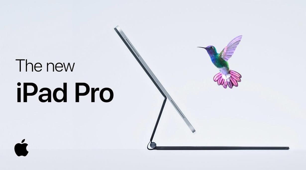 Apple、「Magic Keyboard」にフォーカスしたiPad Proの新しいCM「Float」を公開