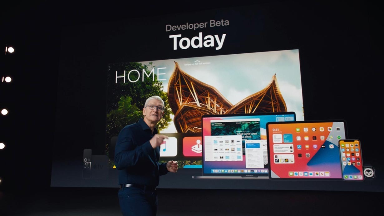 Apple、デベロッパー向けに「iOS 14 beta 2」「iPadOS 14 beta 2」「macOS Big Sur beta 2」などをリリース
