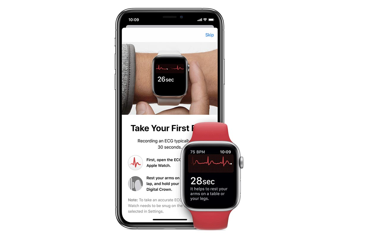 「watchOS 7.3」から日本国内で「心電図」アプリが利用可能へ