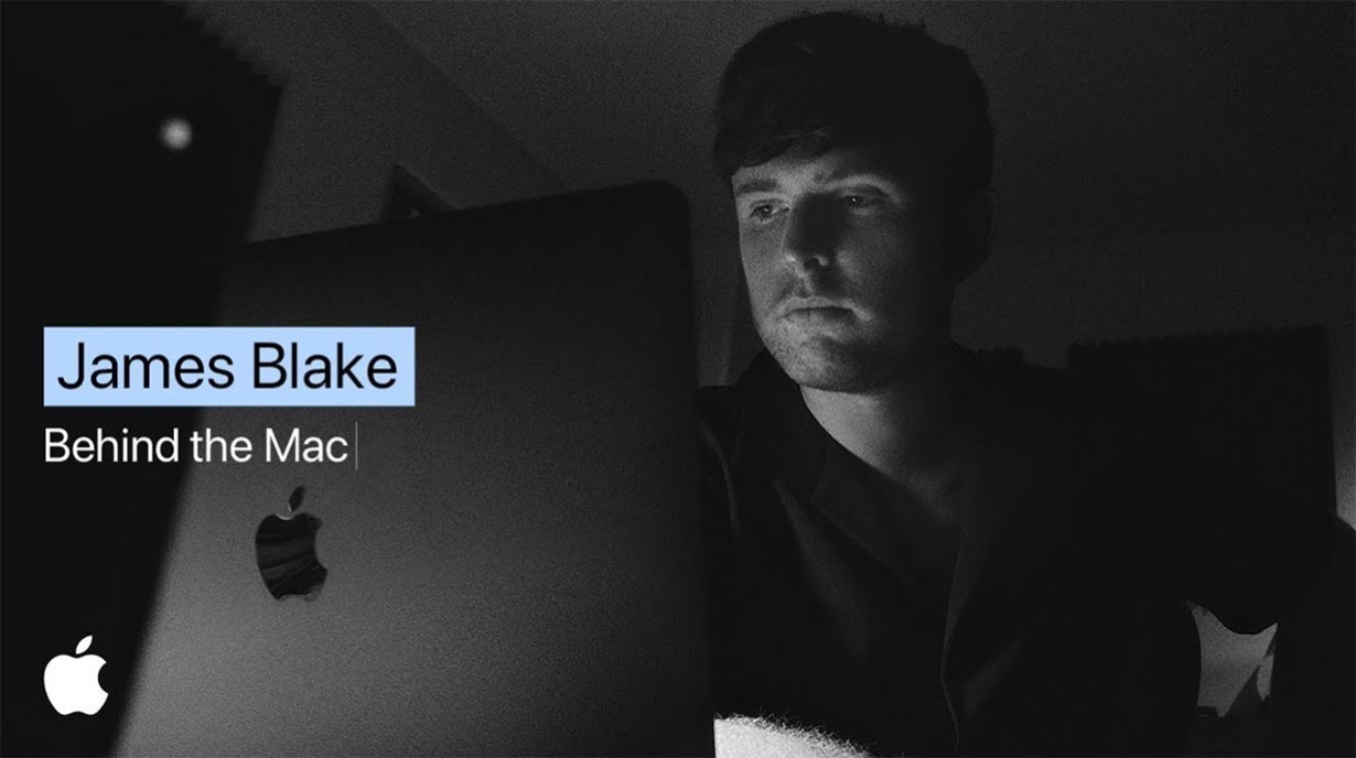 Apple、Macの新しいCM「Behind the Mac — James Blake cuts his latest track at home」を公開