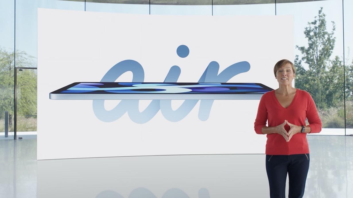 Apple、A14プロセッサを搭載し、トップボタンにTouch IDを搭載した「iPad Air(第4世代)」を発表