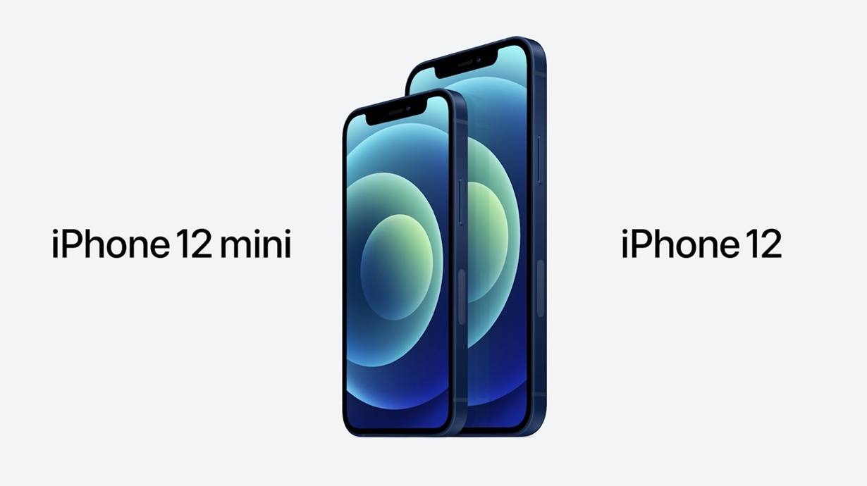 Apple、5Gに対応、Super Display XDRを搭載した「iPhone 12」「iPhone 12 mini」を発表