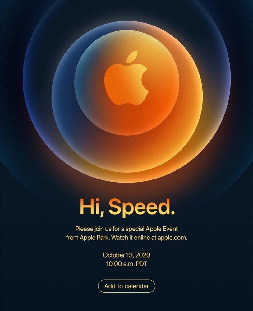 Apple、現地時間10月13日にApple Eventを開催と発表 ー 「iPhone 12」などを発表!?
