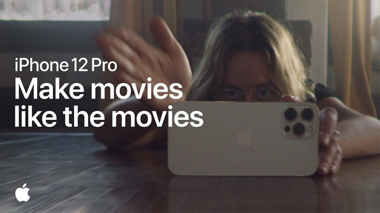 Apple、iPhone 12 ProのCM「Make movies like the movies」を公開