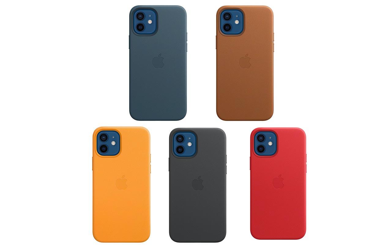 Apple、「iPhone 12」シリーズ向け純正レザーケースの販売を開始