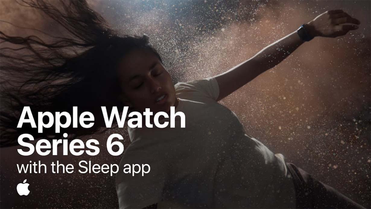 Apple、「Apple Watch Series 6」のCM「The future of health is on your wrist」シリーズを3本公開