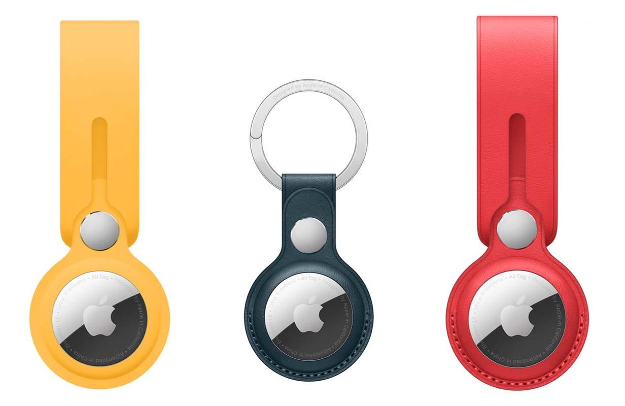 Apple、「AirTag」純正アクセサリを発表 ー Belkin製のアクセサリも登場