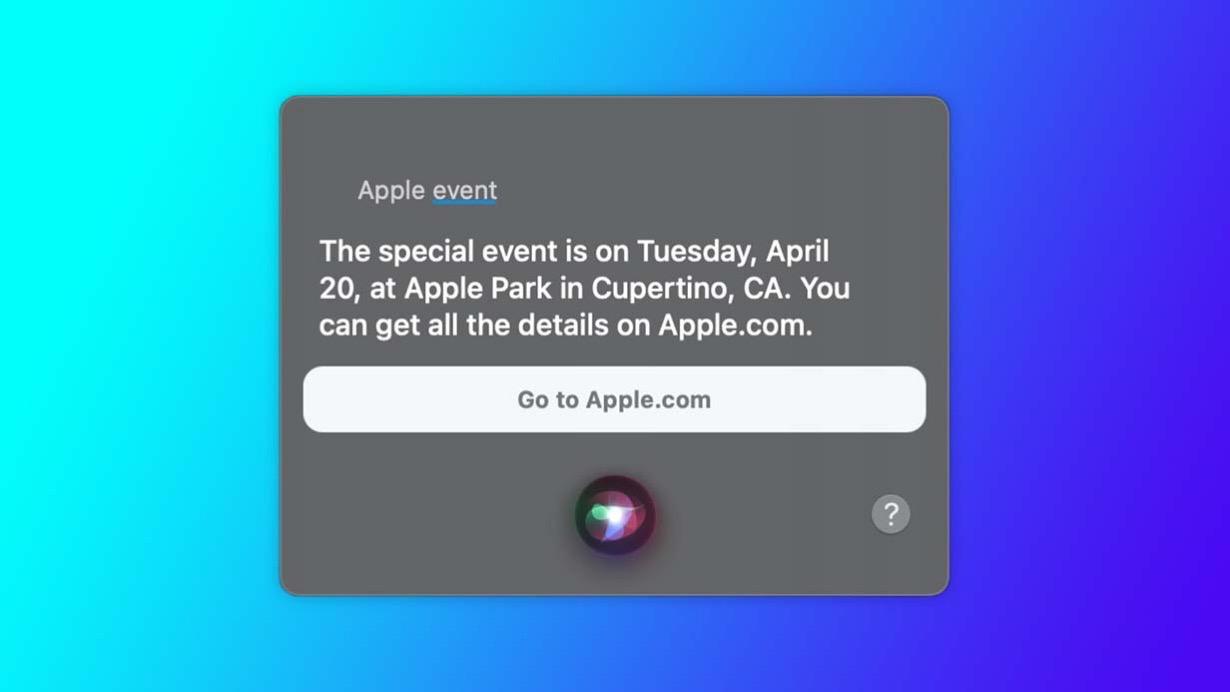 Apple、現地時間4月20日にスペシャルイベントを開催か!?