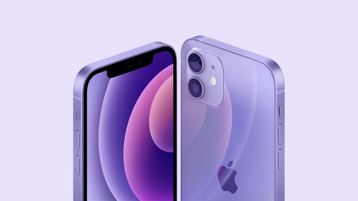 Apple、「iPhone 12」「iPhone 12 mini」に新色「パープル」を発表