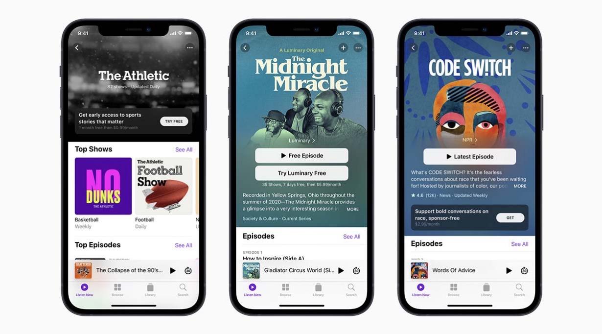 Apple、6月15日から「Apple Podcastサブスクリプション」の提供開始
