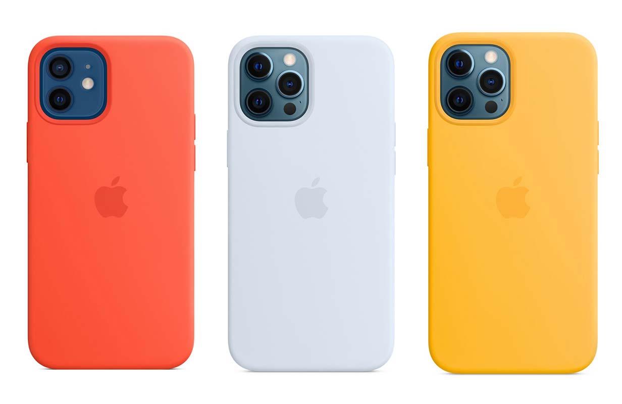 Apple、「iPhone 12」シリーズ向けシリコンケースに夏の新色3色を追加
