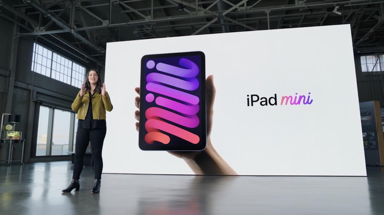 Apple、デザインを刷新した「iPad mini(第6世代)」を発表