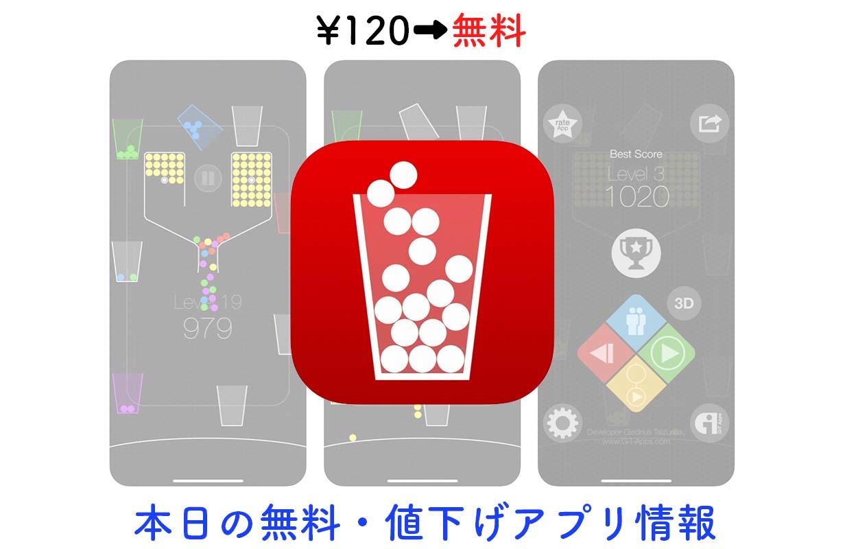 120円→無料、シンプルながらヤミツキになる「100 Balls」など【9/5】セールアプリ情報