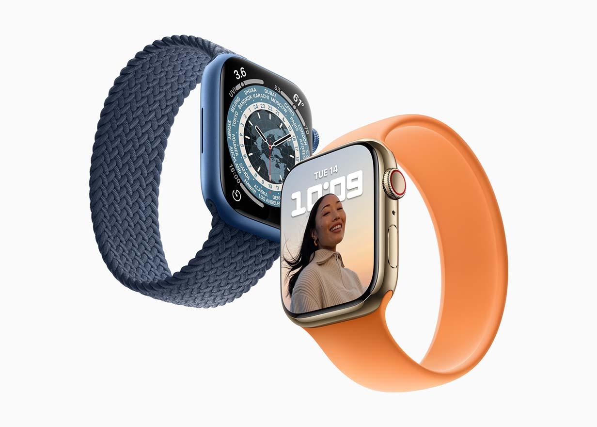Appleとキャリア3社、「Apple Watch Series 7」の販売を開始
