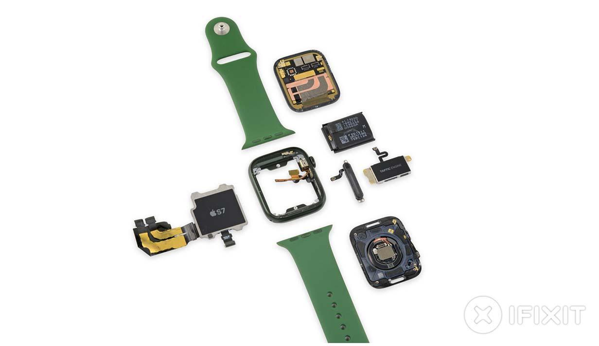 iFixit、「Apple Watch Series 7」のバラシレポートを公開